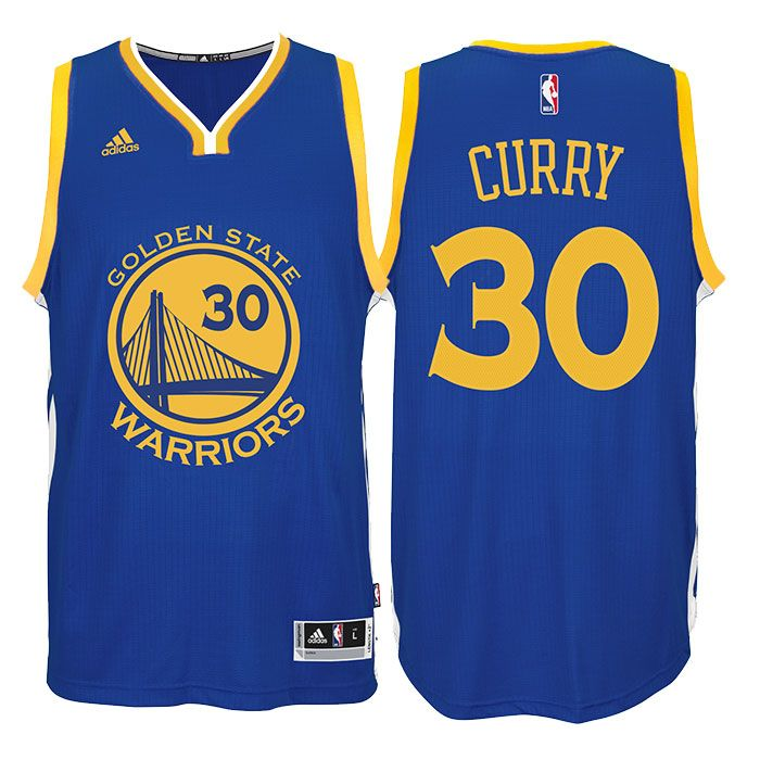Always wanted to play the role of Stephen Curry on the court but never had the chance? Welcome to the Revolution. Celebrate with this Stephen Curry Jersey: adidas Royal Blue Swingman #30 Golden State Warriors Jersey - the latest in style and design. Because they say imitation is the highest form of flattery. Features all-new 100% flat-back mesh and polyester braid with a stitched down, multicolor name and number screenprint capturing the colors of your favorite player's on-court wear…