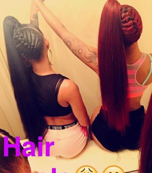 261 best ponytails images on pinterest hairstyles black girls hairstyles and ponytail styles