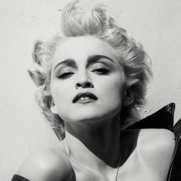 Madonna black dress 80s 500