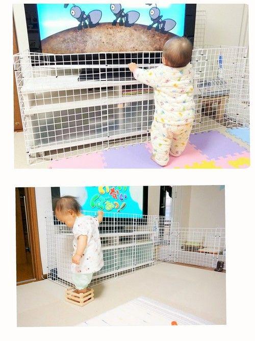 赤ちゃんの安全対策!ベビーガードの作り方~つかまり立ちやつたい歩き始まったらやっておきたい安全対策~の画像4