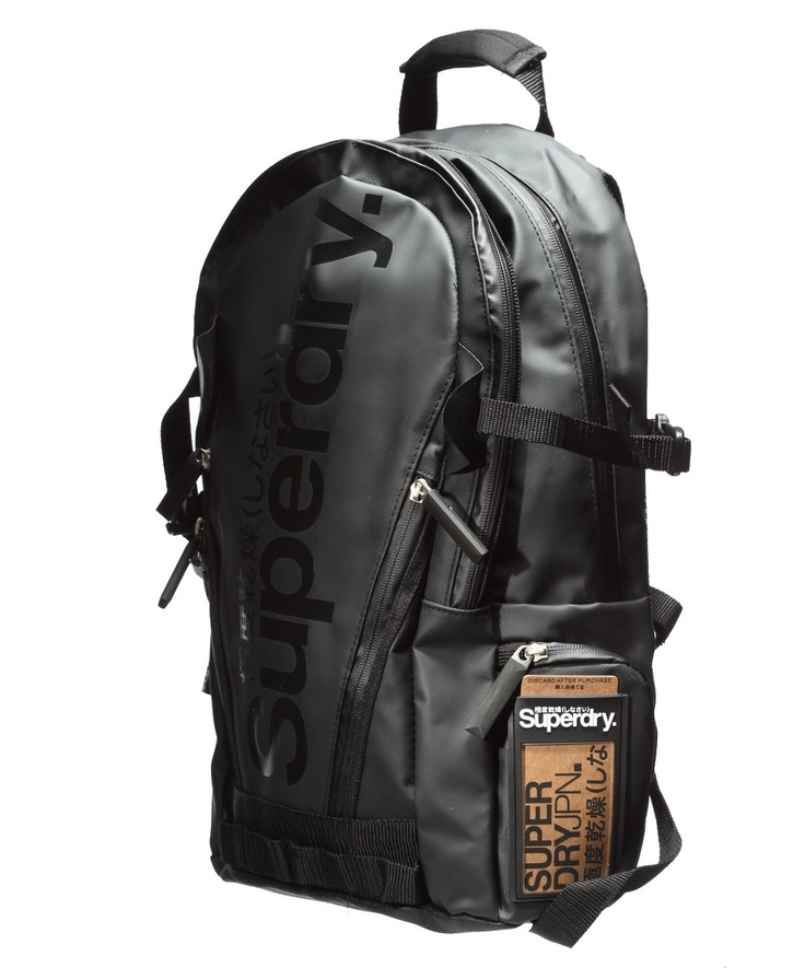 superdry classic tarpaulin backpack black get on my. Black Bedroom Furniture Sets. Home Design Ideas