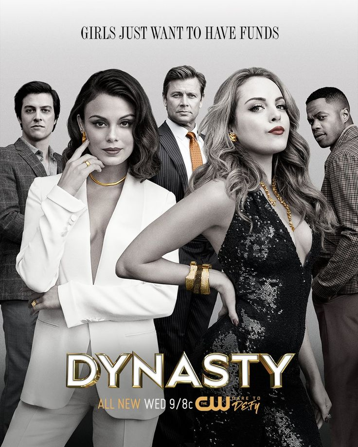 Girls just want to have funds. Stream #Dynasty NOW on The CW App: