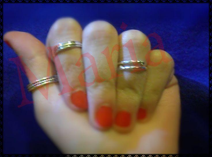 χειροποίητα ασημένια δαχτυλίδια 925