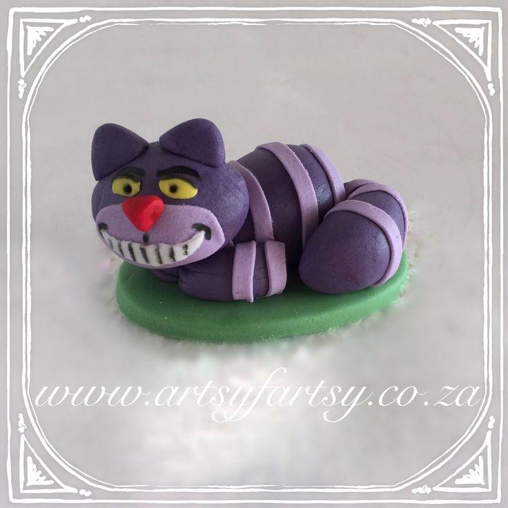 Alice in Wonderland Sugar Figurines #aliceinwonderlandsugarfigurines #cheshirecat