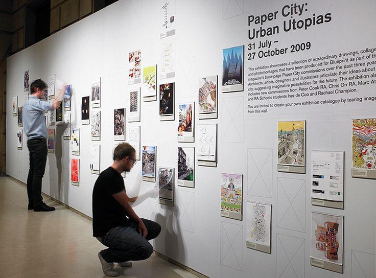 Paper City: Urban Utopias | Bibliothèque Design