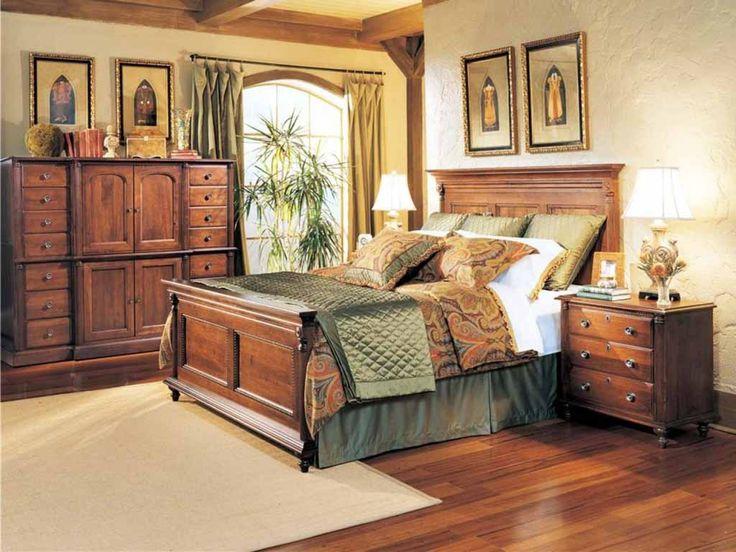 Distressed Wood Bedroom Furniture   Interior Bedroom Design Furniture