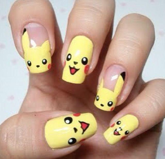 Pikachu nails