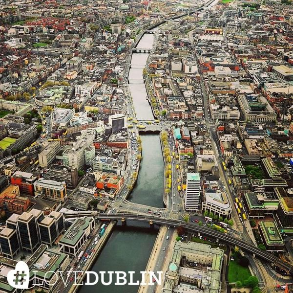 Find out the best spots to get an unbeatable view of Dublin here! pic via @IrishAirCorps #LoveDublin #love #Dublin #vsco #vscocam #travel  #photoftheday #pic #picoftheday #tip  #photo #art #photography #inspo #Ireland