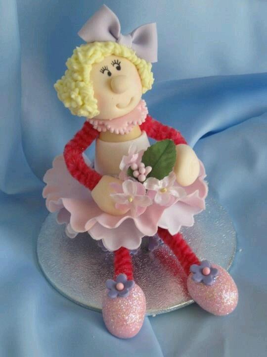 Wobbly dolly- betty by Georgie Godbold