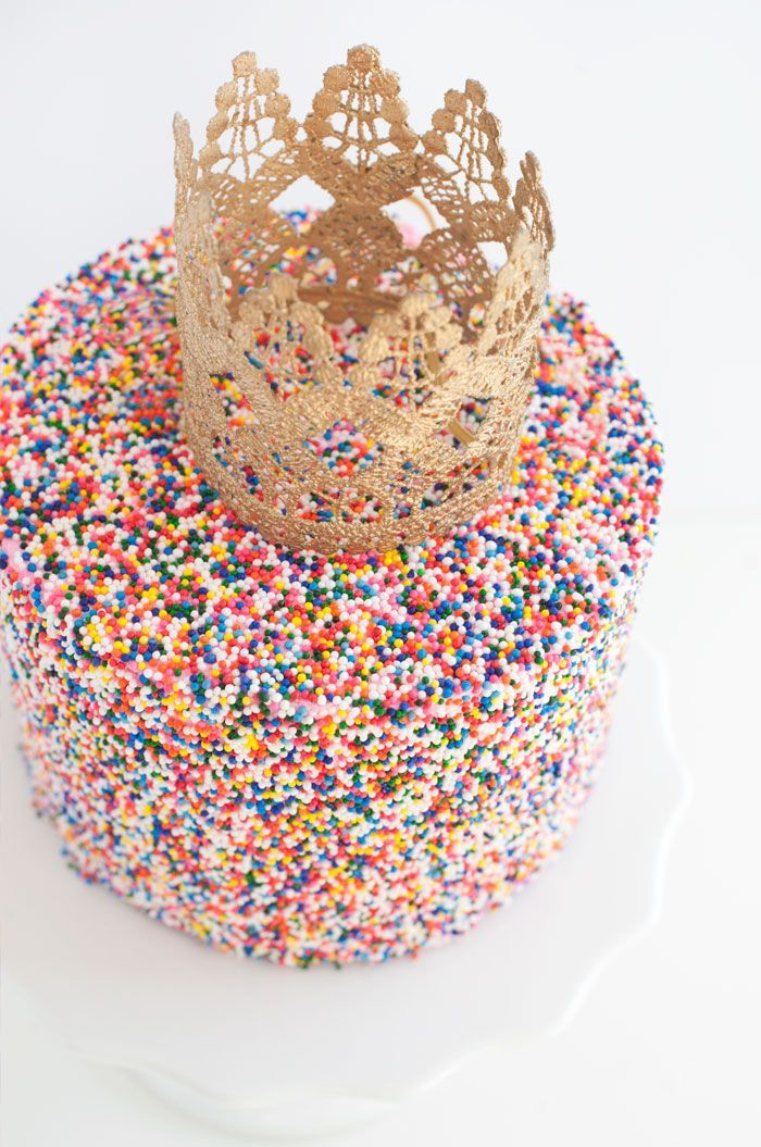 Sprinkle Queen!!! - This sprinkle cake is everything!
