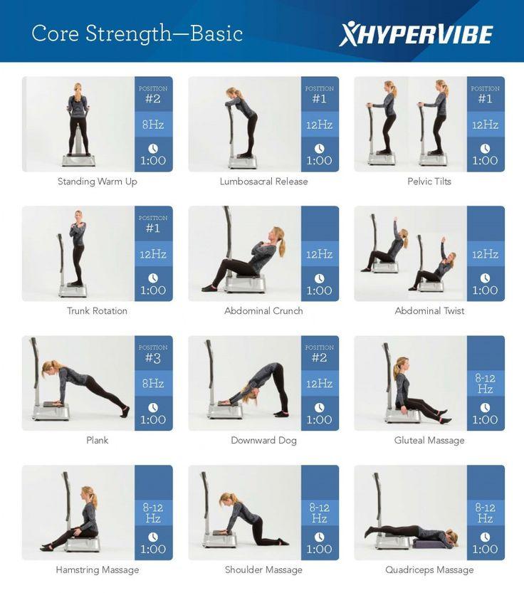 wbv machine exercise plan | vibration exercises | Whole ...
