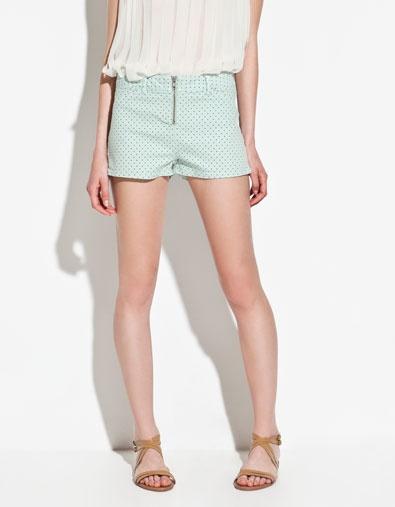 POLKA DOT SHORTS - Shorts - TRF - ZARA United States $25.99