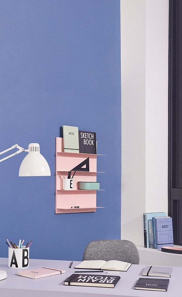 Paper Shelf for storage and decoration in your home office