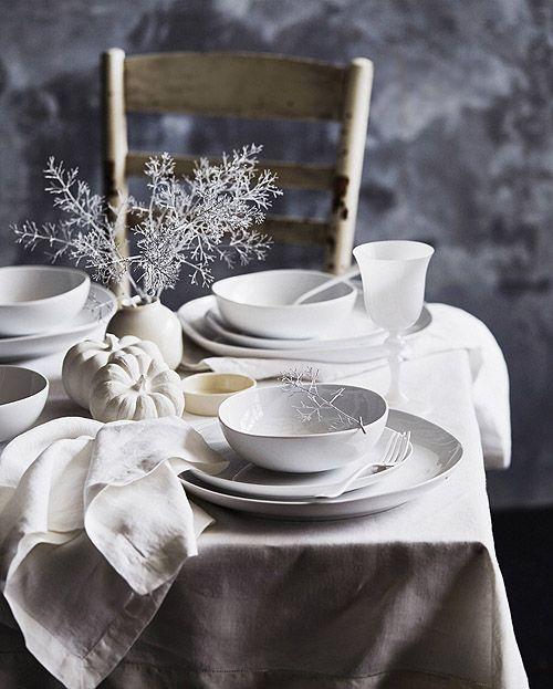 neutral table styled + shot by Matt Armendariz
