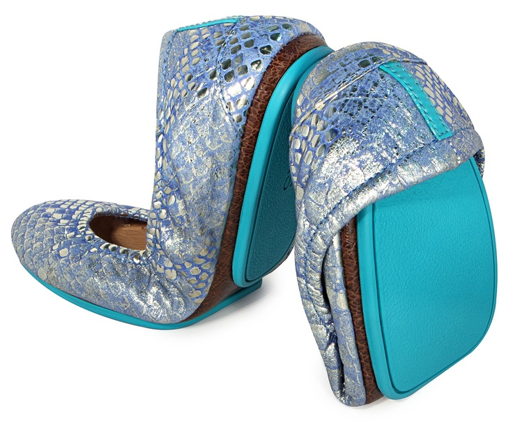Love these Paradise Blue shoes!!!