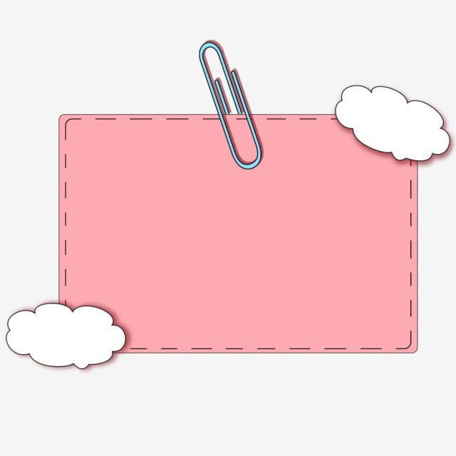 Cartoon Illustration Cloud Decorative Note Paper Cartoon Illustration Clouds Png Transparent Clipart Image And Psd File For Free Download Powerpoint Background Design Note Paper Photo Collage Template