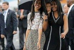 Las hijas de Obama y sus vestidos baratos