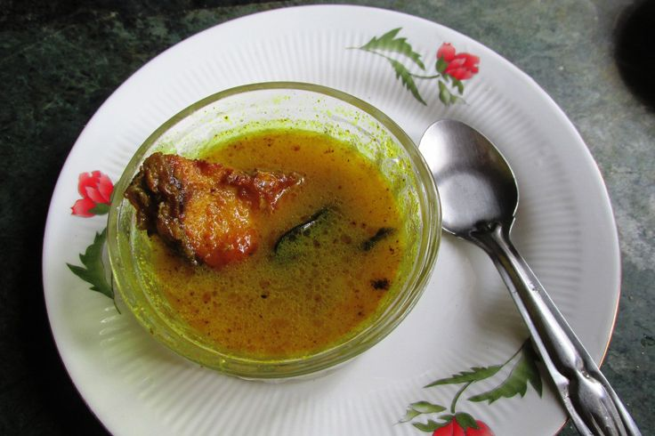 Masor tenga - sour fish curry