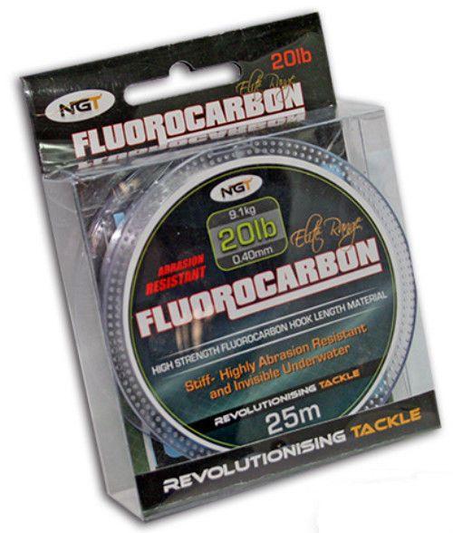 Bobine de peche fluorocarbone  0.40mm 9.1kg 25m