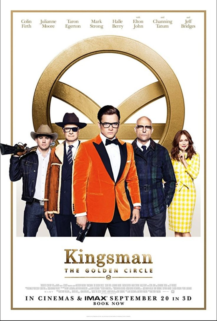 Kingsman: The Golden Circle (2017) - the Americans get a chance to save