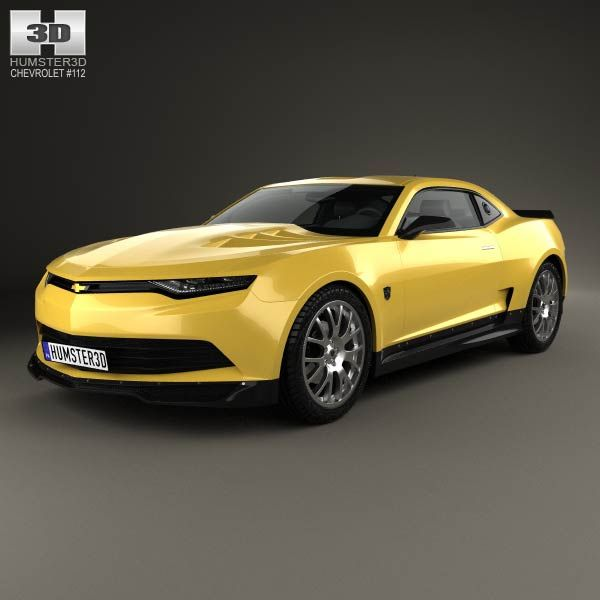 Chevrolet Camaro Bumblebee 2014 3d model from humster3d.com. Price: $75