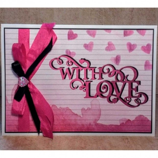 Crafters Companion-Gemini-Expressions-With Love-sentiment