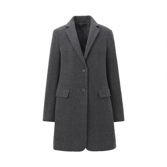 WOMEN Wool Blended Coat | UNIQLO