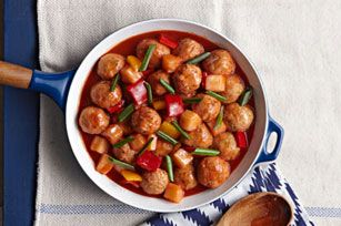 Sweet & Sour Chicken Meatballs