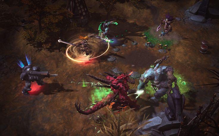 Heroes of the Storm Game Screenshot 2