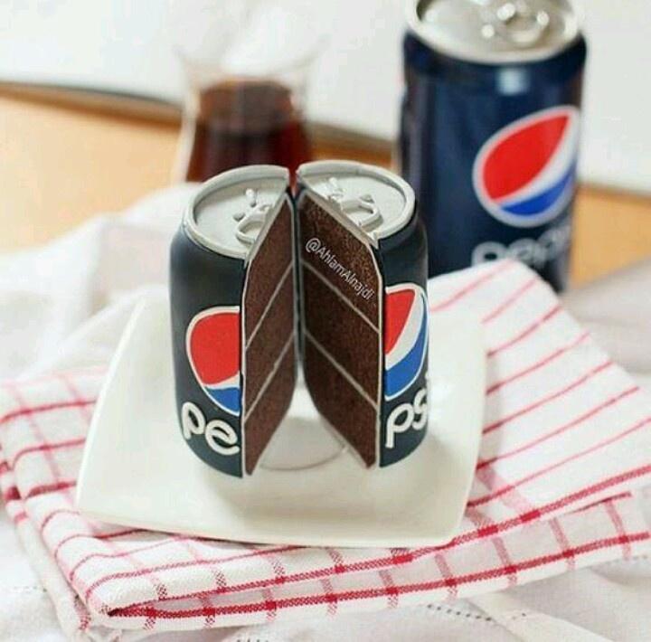 Diet Pepsi Birthday Cake