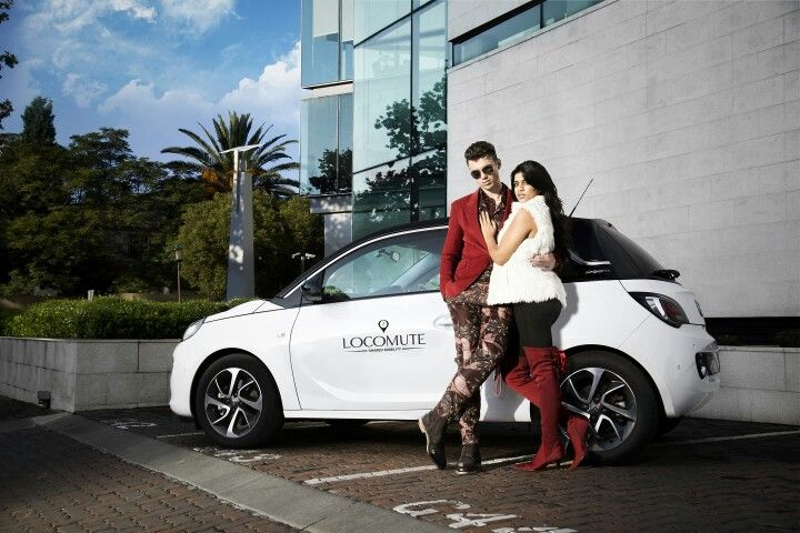 Commercial shoot for Locomute South Africa's first car sharing network