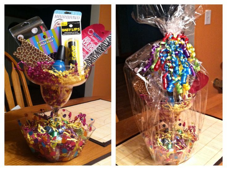 21st Birthday Gift Basket For Those Non Drinkers Place