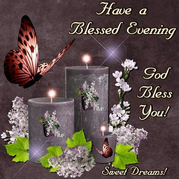 Good night blessing