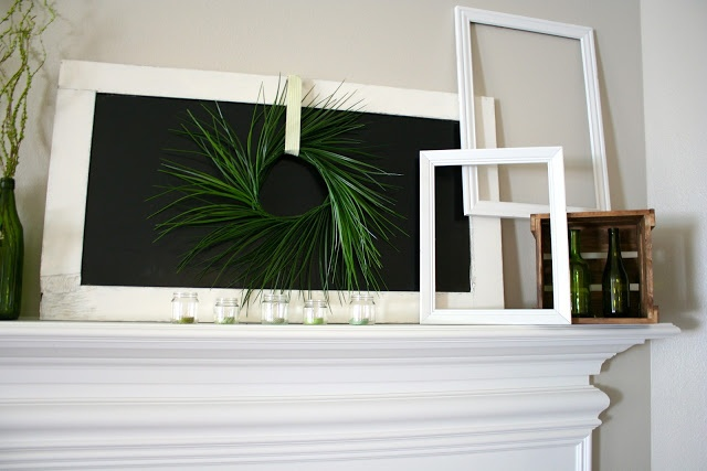 Simple March Mantle