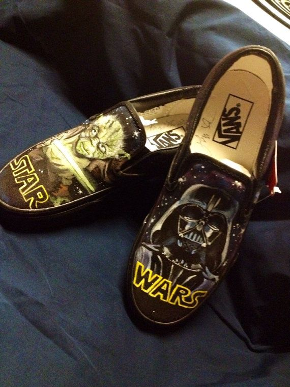 Hey, I found this really awesome Etsy listing at https://www.etsy.com/listing/177260923/star-wars-custom-painted-shoes
