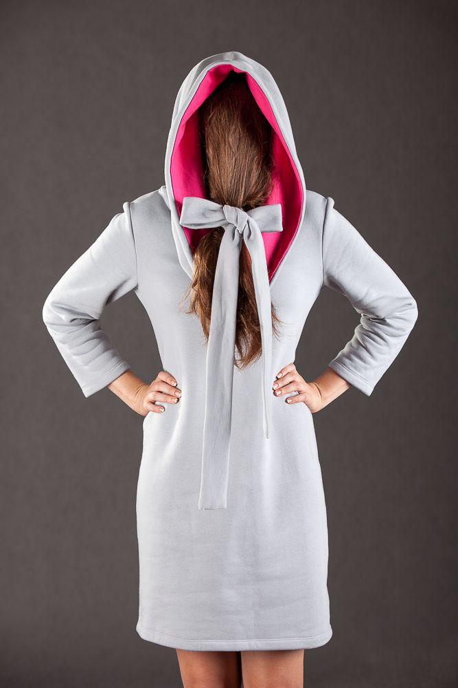 Hoody dress by Lakola