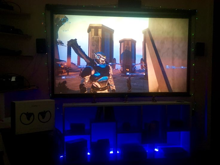 88 home cinema solution with lighting. 78 inch manual screen for ...