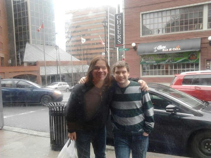 Allan - Great Big Sea - Gratiously takes the time to make this young man's day. We love you Allan!