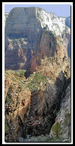 Angels Landing - Zion National Park  One of the best hikes and views anywhere!