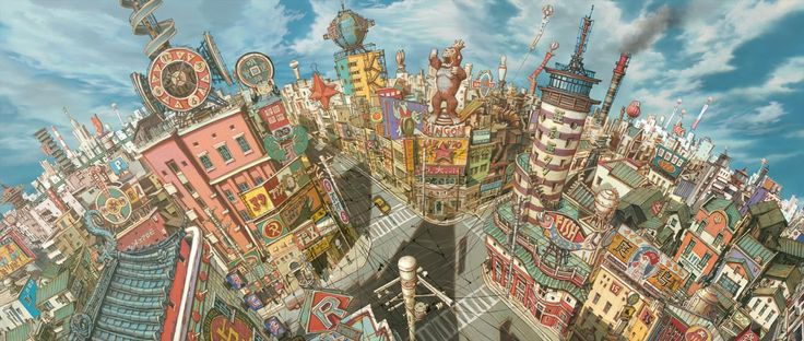 Tekkon Kinkreet Background Art - Imgur ★    CHARACTER DESIGN REFERENCES   キャラクターデザイン  • Find more artworks at https://www.facebook.com/CharacterDesignReferences  http://www.pinterest.com/characterdesigh and learn how to draw: #concept #art #animation #anime #comics    ★