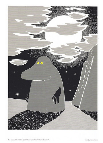 Moomin Poster Groke Tove Jansson 24 x 30 cm   eBay