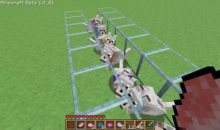 minecraft major mods | Minecraft Dog Pets, Dye-able Collar Mod | Surviving Minecraft ...