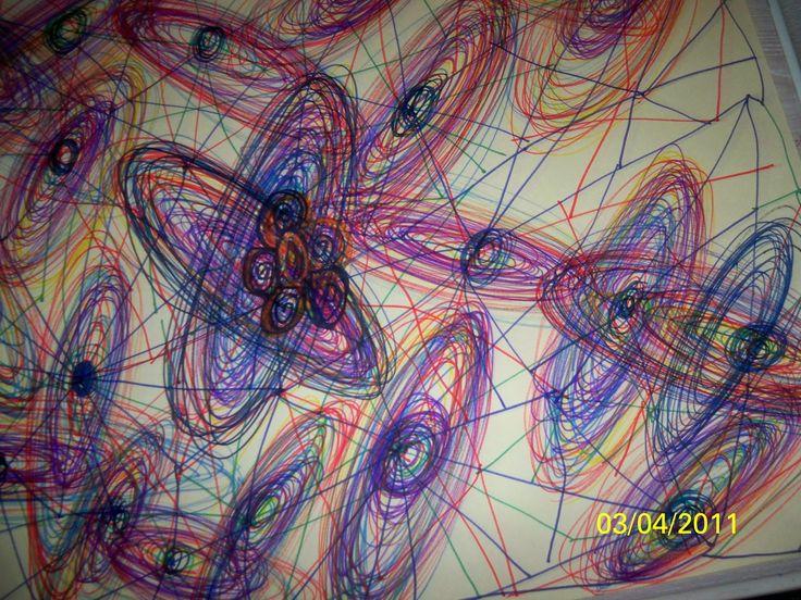 Somos seres de luz : Capitulo 3. Dibujos del universo, guiada por seres...
