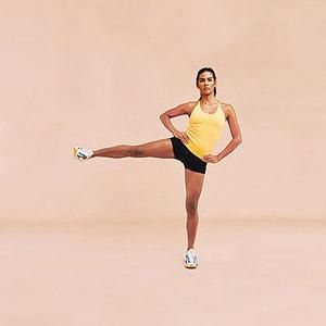 Work your hips away in just 10 minutes! Melt fat off of your hips and sculpt a lean and long lower body with this quick and effective workout. This no-equipment, at-home workout uses your body weight for a great circuit.