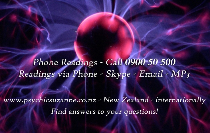 Contact Suzanne for a #psychic #reading in #NewZealand and #internationally
