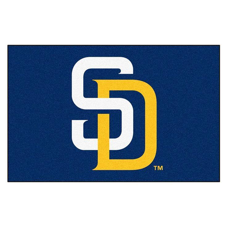 San Diego Padres MLB Starter Floor Mat (20x30)