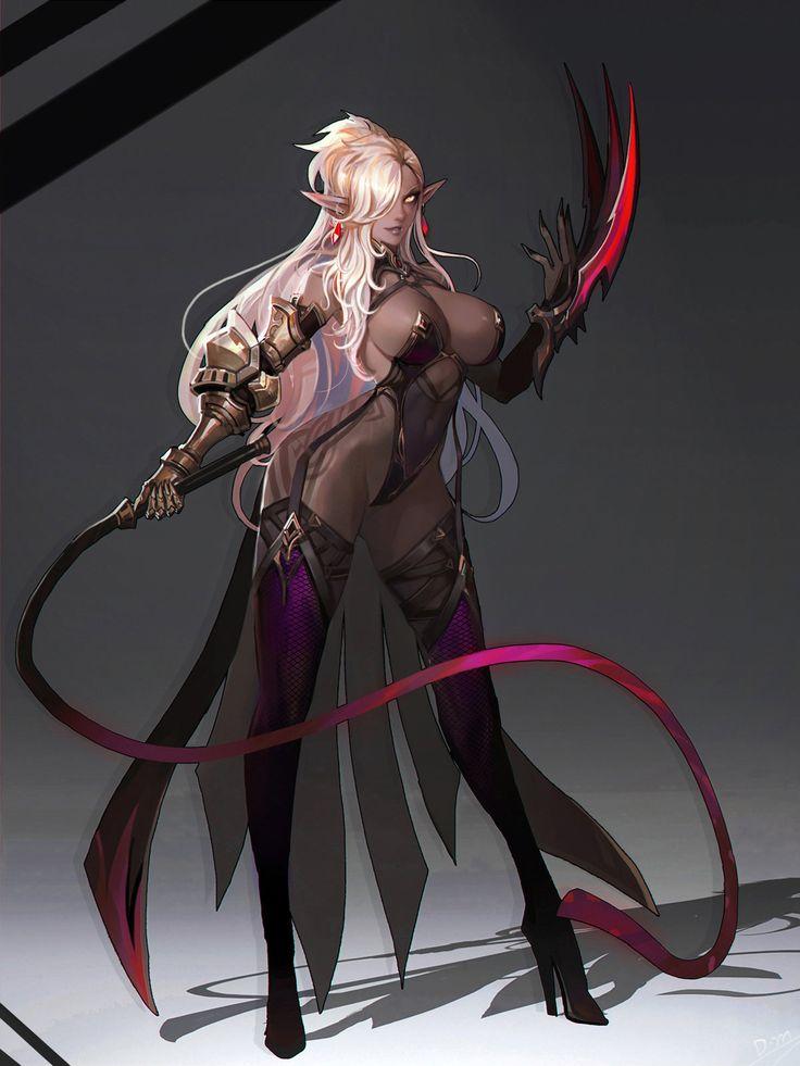 Dark elf , Dead Man on ArtStation at https://www.artstation.com/artwork/dark-elf-6a58934c-97bc-4c73-9b54-200512c17761