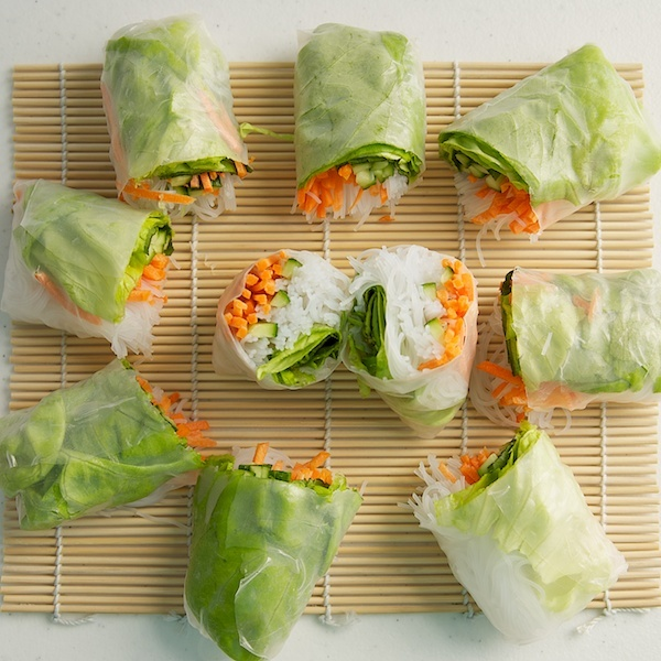 Spring Rolls..yummy!Springrolls, Health Food, Healthy Fresh Meals, Peanut Sauces For Spring Rolls, Salad Recipe, Eating, Fresh Spring Rolls, Yummy, Rice Noodles