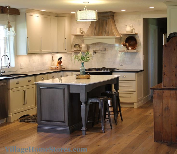 Haas Kitchen Cabinets: A Combination Of Whip Cream #painted Cabinets And The New