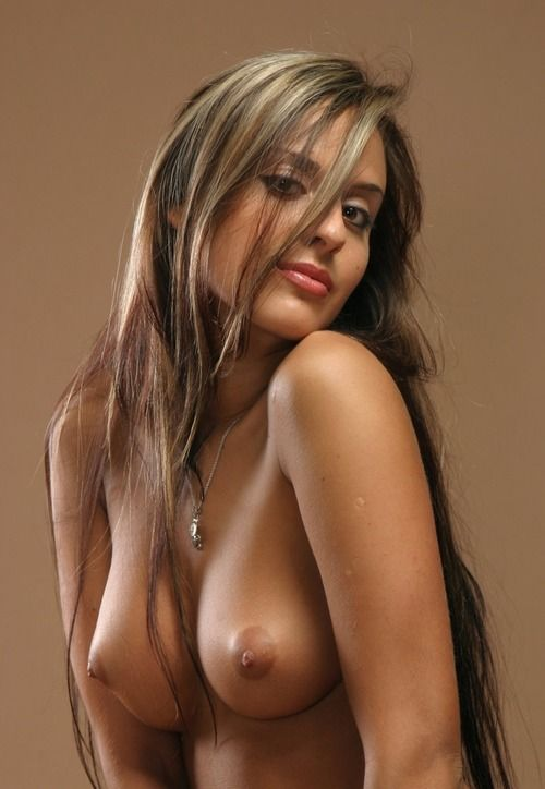 Boob brunette nice